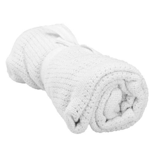 Baby Kleinkinder Kinder Zellen weich warm Baumwoll Decke Babywagen Kinderbett