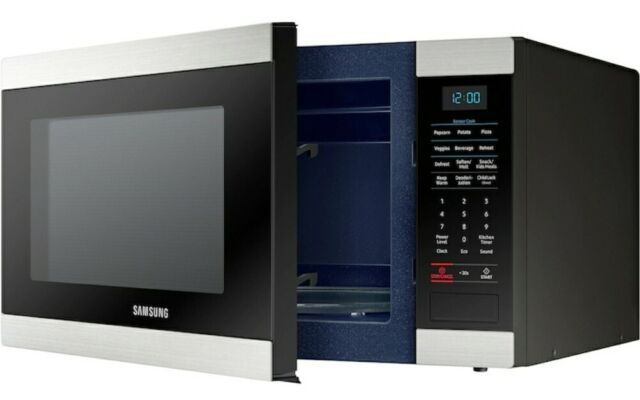 New Ob Samsung Ms19m8000as 1 9 Cu Ft Large Countertop