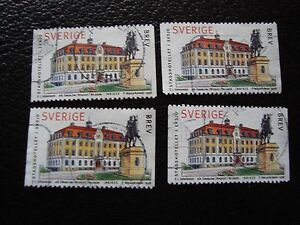 SUEDE-timbre-yvert-et-tellier-n-2025-x4-obl-A29-stamp-sweden