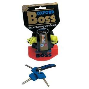 Oxford-Boss-Motorcycle-Motor-Bike-Scooter-Disc-Lock-With-Reminder-Cable-Orange