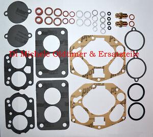 Fiat 850 Gasket Kit 900T 1-4 Stück Wartungskit 30 ICF Weber Vergaser