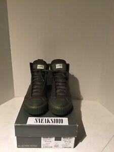 Men-039-s-Green-G-STAR-Scuba-Hi-top-Sneakers-size-9-D-S