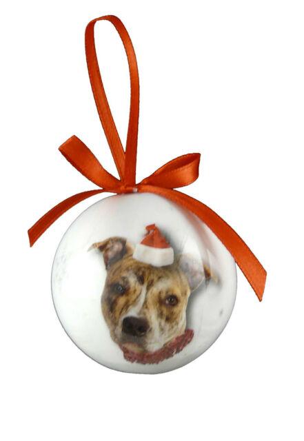 Christmas Pet Bauble Xmas Decoration - 5 inches/2cm - Plastic