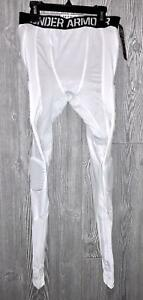50efc4d09d Image is loading UNDER-ARMOUR-Gameday-7-Pad-Basketball-Compression-Tights-