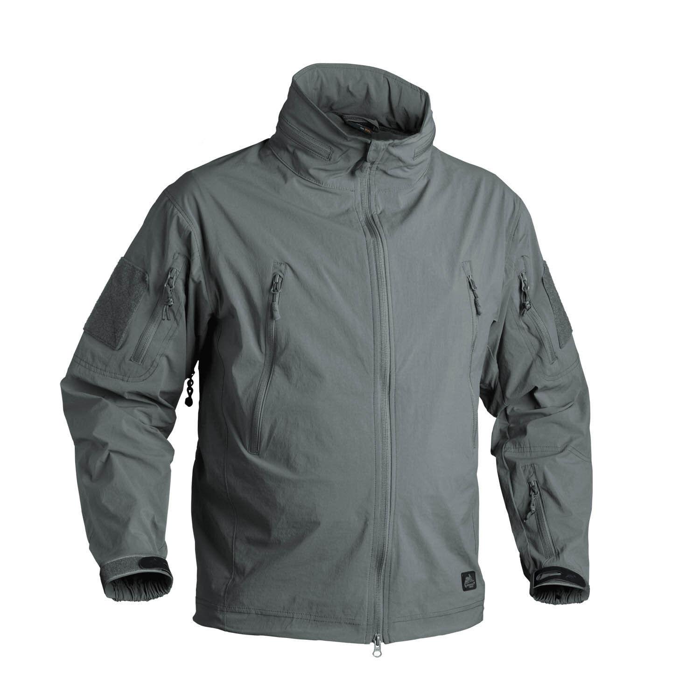 Helikon Tex Trooper Lightweight Outdoor Soft Shell Jacket Giacca Alpha verde S