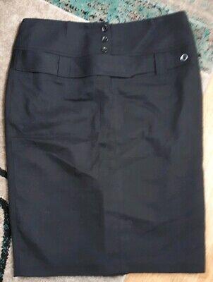 3829ee8435 House of fraser 10 front design black pencil skirt | eBay