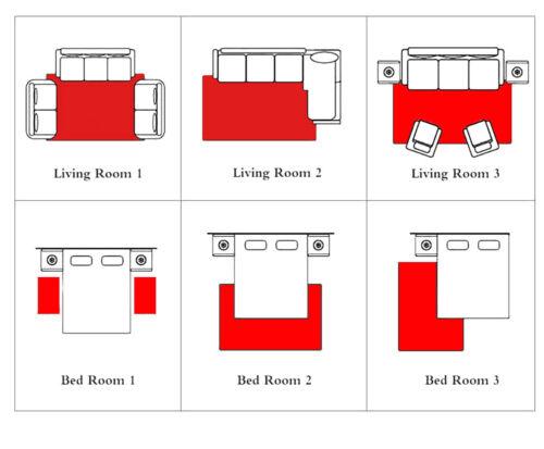 3D Color Cube Area Rugs Modern Home Living Room Carpet Floor Decor Kids Play Mat