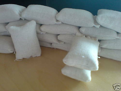 ungefüllte Säcke für die LGB Bahn 100 Stück