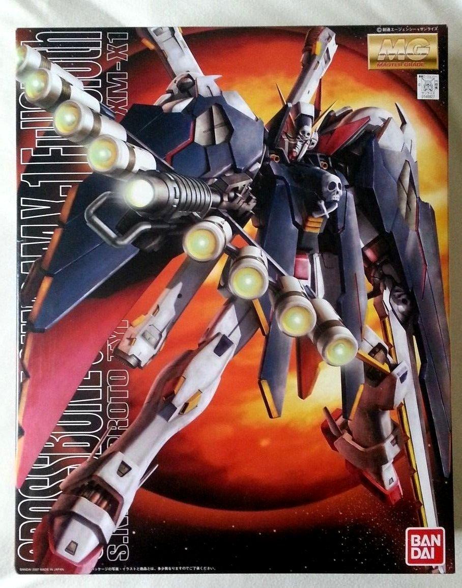 Crossbone Gundam Full -Cloth MG1  100 094 XM -X1 modellllerlerl Kit