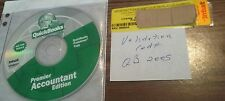 Intuit Quickbooks Premier Accountant Edition 2005 with key