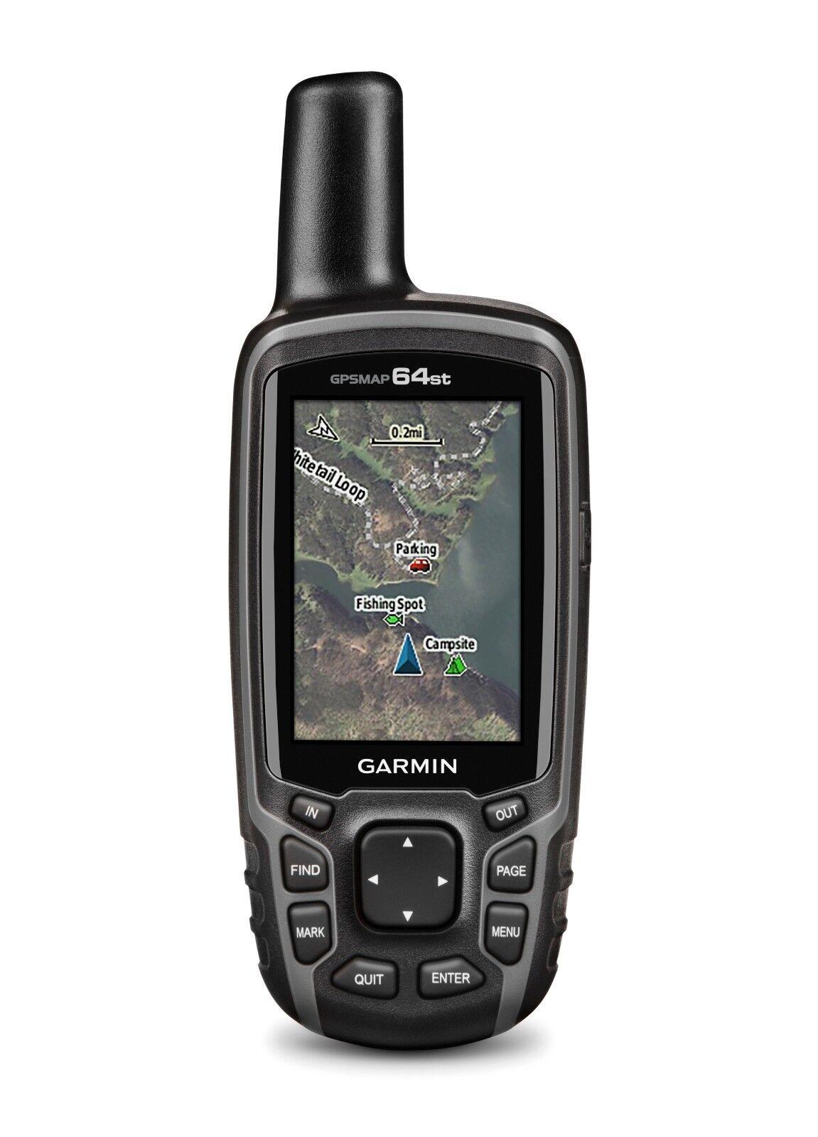 Garmin Gpsmap 64st Esterno Palmare GPS con Topo USA 100k 010-n1199-20