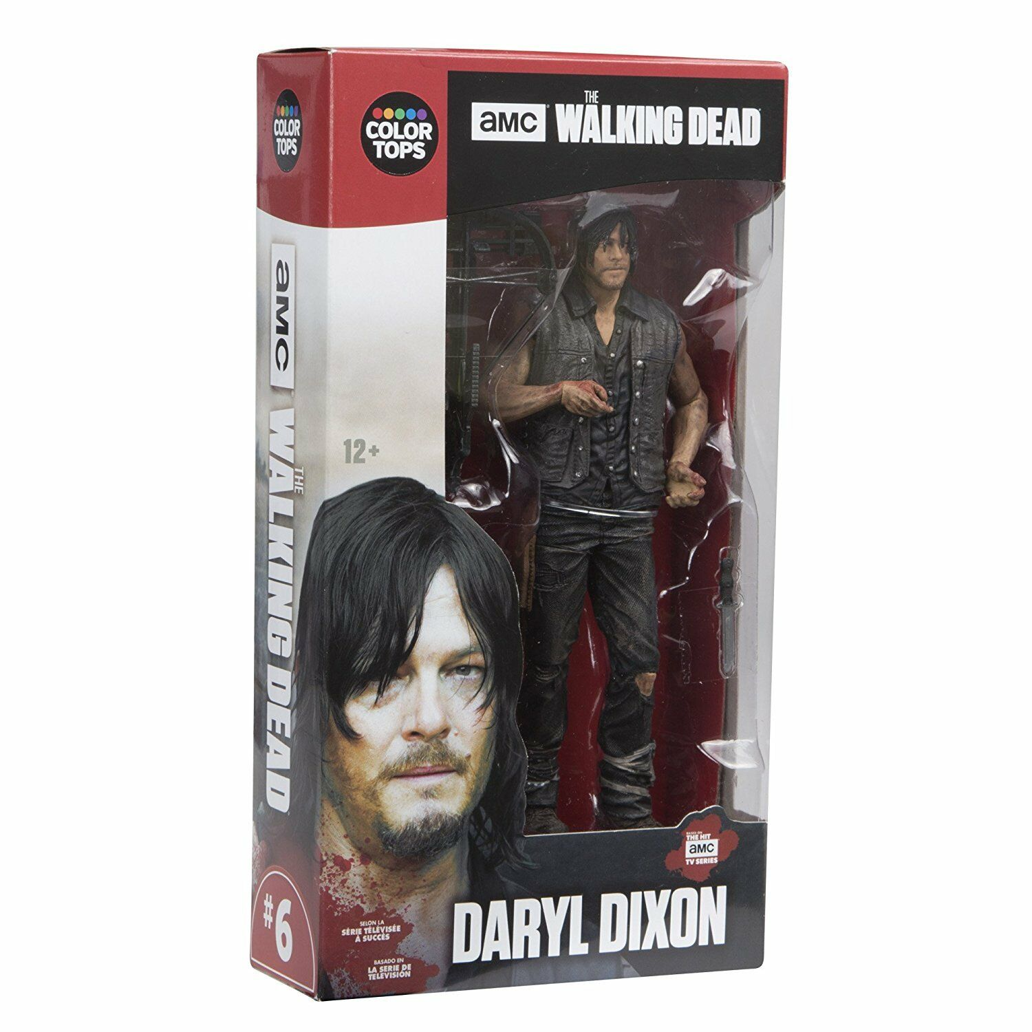 The en marchant Dead TV  Series 7 in (environ 17.78 cm) Collectible Action Figure-Daryl Dixon  vente de sortie