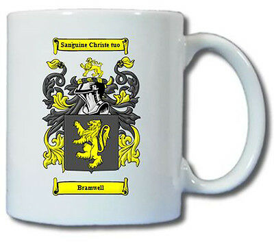 BRAMWELL COAT OF ARMS COFFEE MUG | eBay