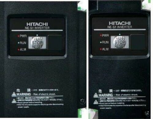 Hitachi NES1007SB w NES1OP Installed 1HP 1ph In 3ph out Phase Converter