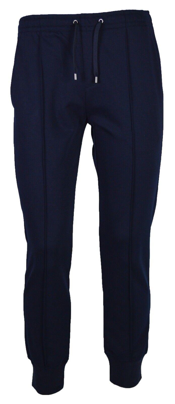 Emporio Armani Men`s Jogging Bottoms - S8N1PM5 - Blue Navy