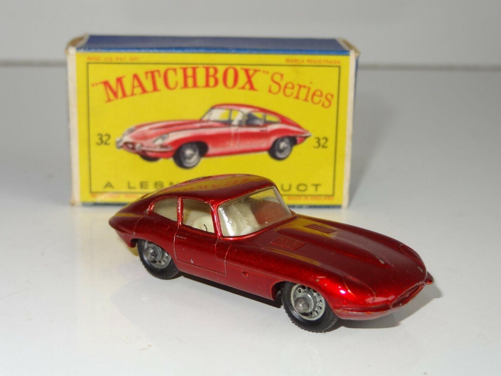 MATCHBOX Lesney 32 JAGUAR E Tipo (250)