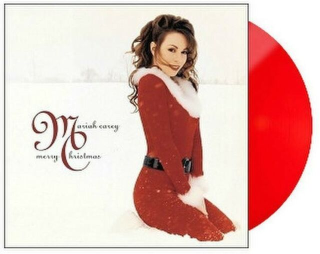 Mariah Carey - Merry Christmas RED VINYL in-shrink LP Vinyl Record Album | eBay