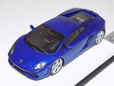 1/43 MR Lamborghini Gallardo LP 560-4 2008 Blue Caelum Leather Base Lim. 20