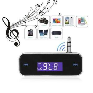 Wireless Music to Car Aux Stereo Radio FM Transmitter For 3.5mm Mp3 Phone Tablet