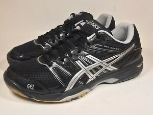Details about Asics Women's Gel Rocket Black Size US 9.5 EUR 41.5 Volley Ball Shoes B455N
