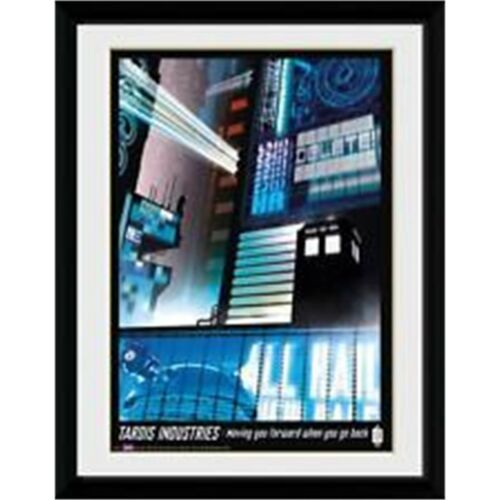 Collector Print 30 41cm 61 x 91.5cm Doctor Who Tardis Industries Poster