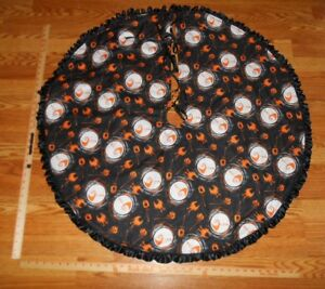 Nightmare Before Christmas Jack Pumpkins 40 Tree Skirt Halloween