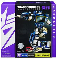 Transformers Hasbro Masterpiece Soundwave Mp 02
