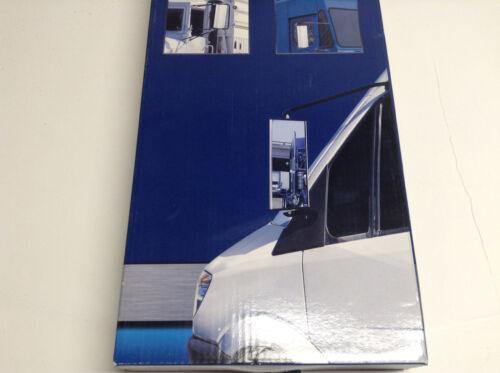 "Pilot MI-122 Stainless Steel Universal Replacement Mirror Head 6.5/"" x 16/"""