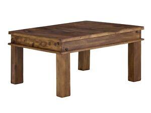 Couchtisch 60x60 Beistelltisch Palisander Massiv Holz Möbel
