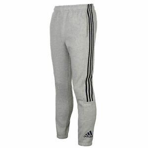Details about adidas Mens 3 Stripe Sweat Pants Trousers Bottoms