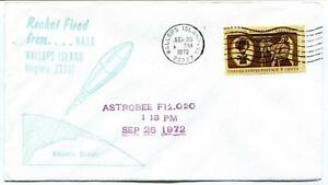 1972 Wallops Island Rocket Fired Astrobee F12.020 Wff Goddard Base Nasa