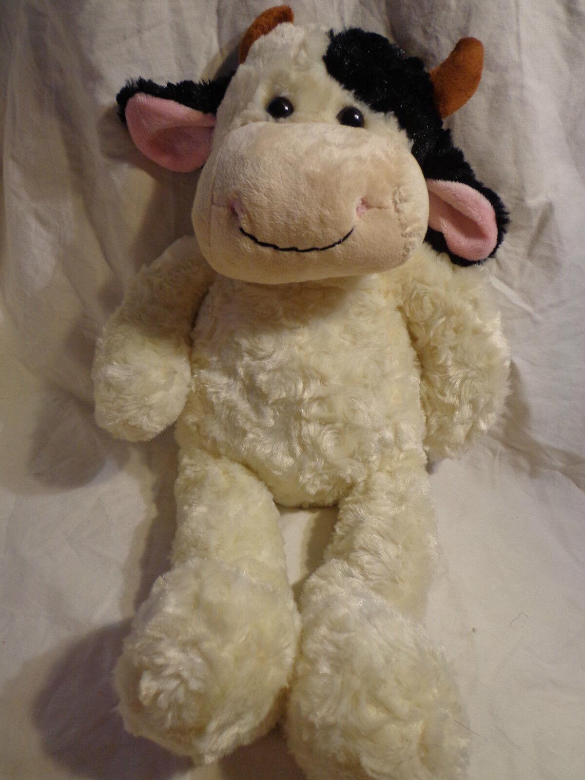 20  Dairy Cow Bull Whimsical Happy Bull Plush Super Soft Toy Stuffed Animal