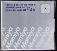 Mamiya Rz Pro Ii / Pro Iid Focusing Screen ( Type C / Microprism )
