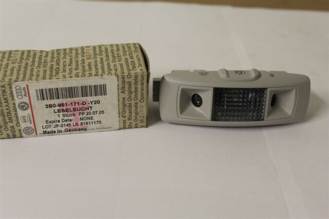 Rear Left Interior Light & Alarm Sensor Passat B5 Superb  3B0951171D New VW Part