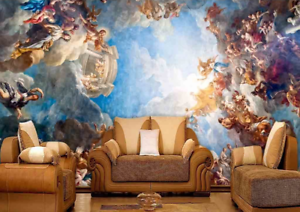 3D Angel Paradies 87 Tapete Wandgemälde Tapete Tapeten Bild Familie DE Summer