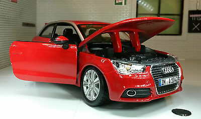 Toys & Hobbies Model Railroads & Trains G Lgb 1:24 Scale Red Vw Audi A1 Tdi Tsi Burago Detailed Model 22127 Invigorating Blood Circulation And Stopping Pains