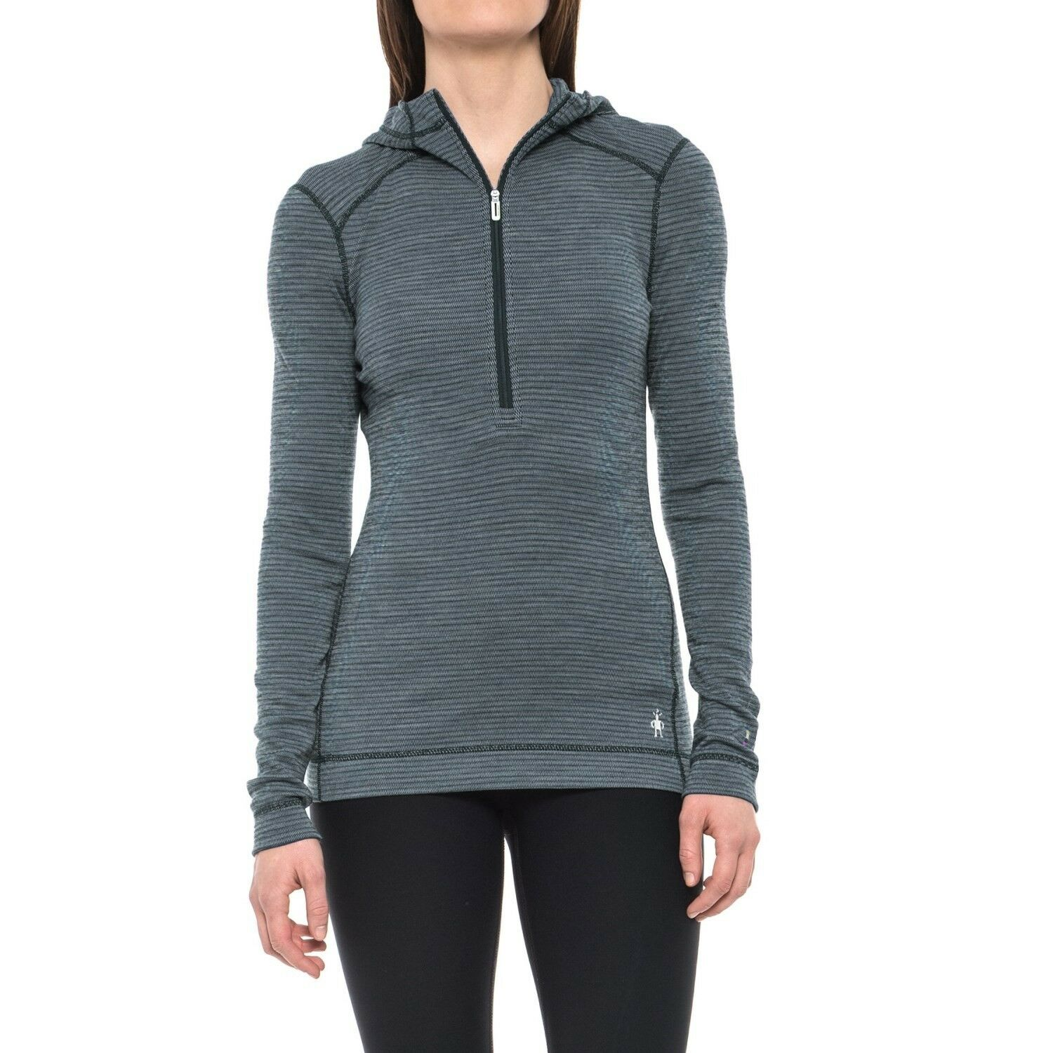 Smartwool NTS  Mid 250 Deep Navy Merino Hooded Top - L - NWT  a lot of concessions