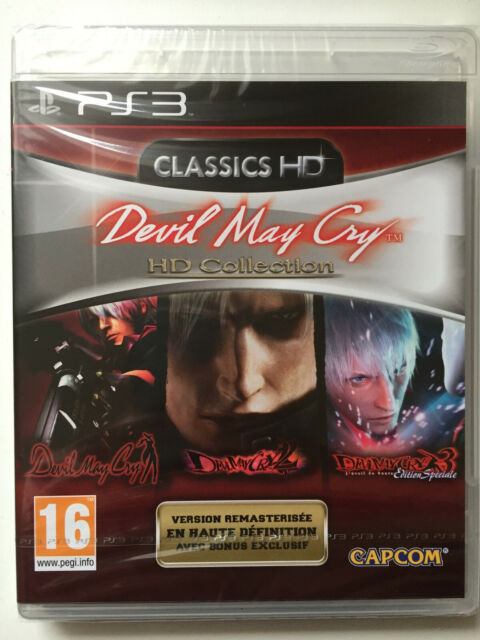 DEVIL MAY CRY HD PS3 NEUF SOUS BLISTER