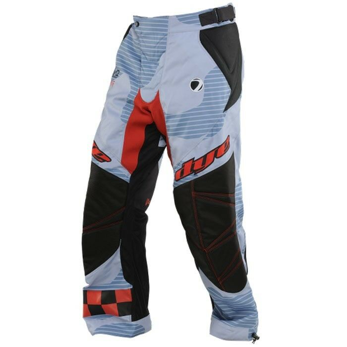 Dye c14 paintball pantalones bombarderos azul rojo