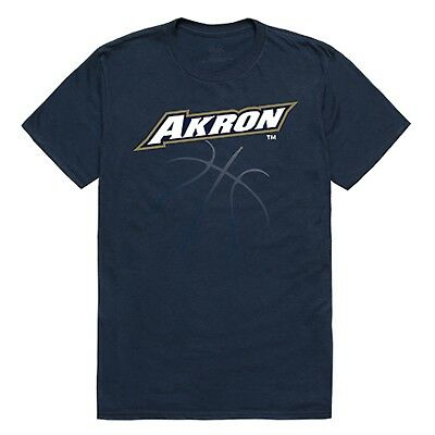 University of Akron UA Zips NCAA College Ghost Cotton Graphic Tee T Shirt