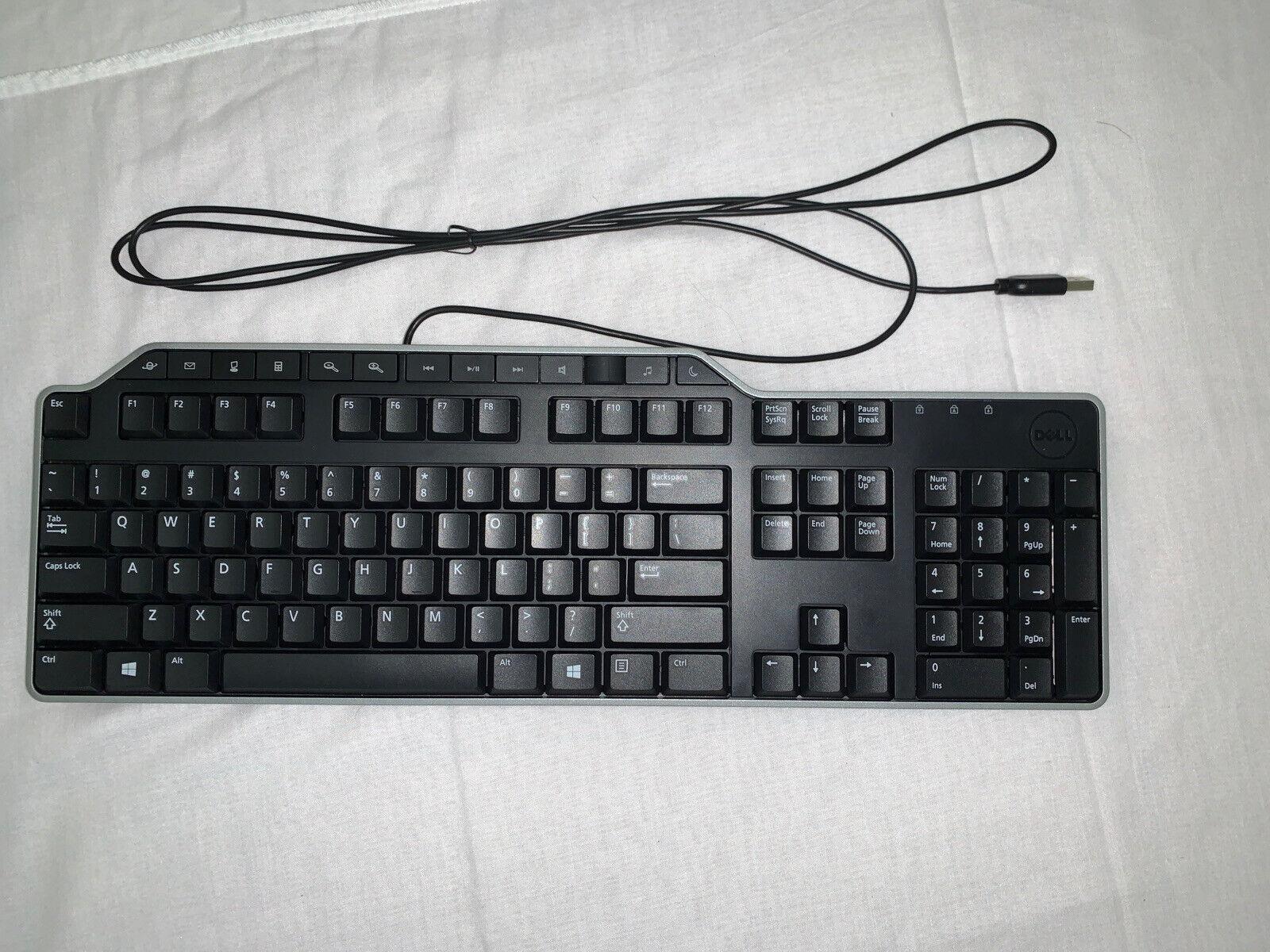 Dell Multimedia Desktop USB Wired Keyboard w/ Multi Media Controls. Buy it now for 32.17