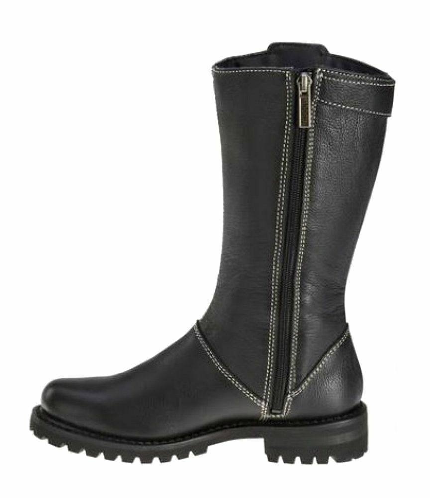 NEW Harley-Davidson® Women's MELIA Lace-up Lace-up Lace-up Black Leather Motorcycle Boots D85054 d82bec