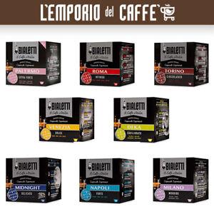 64 Capsule Alluminio Caffe Bialetti I Caffè d'Italia a scelta 100% Originale