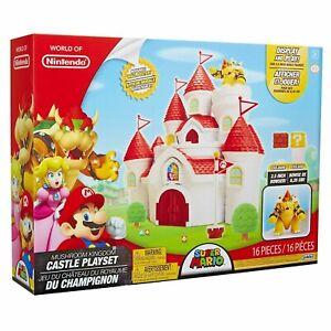 World of Nintendo Deluxe Feature Castle Playset | eBay