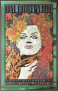 Dave-Matthews-Band-Berkeley-Chuck-Sperry-Green-Foil-Poster-Variant-Virginia-DMB