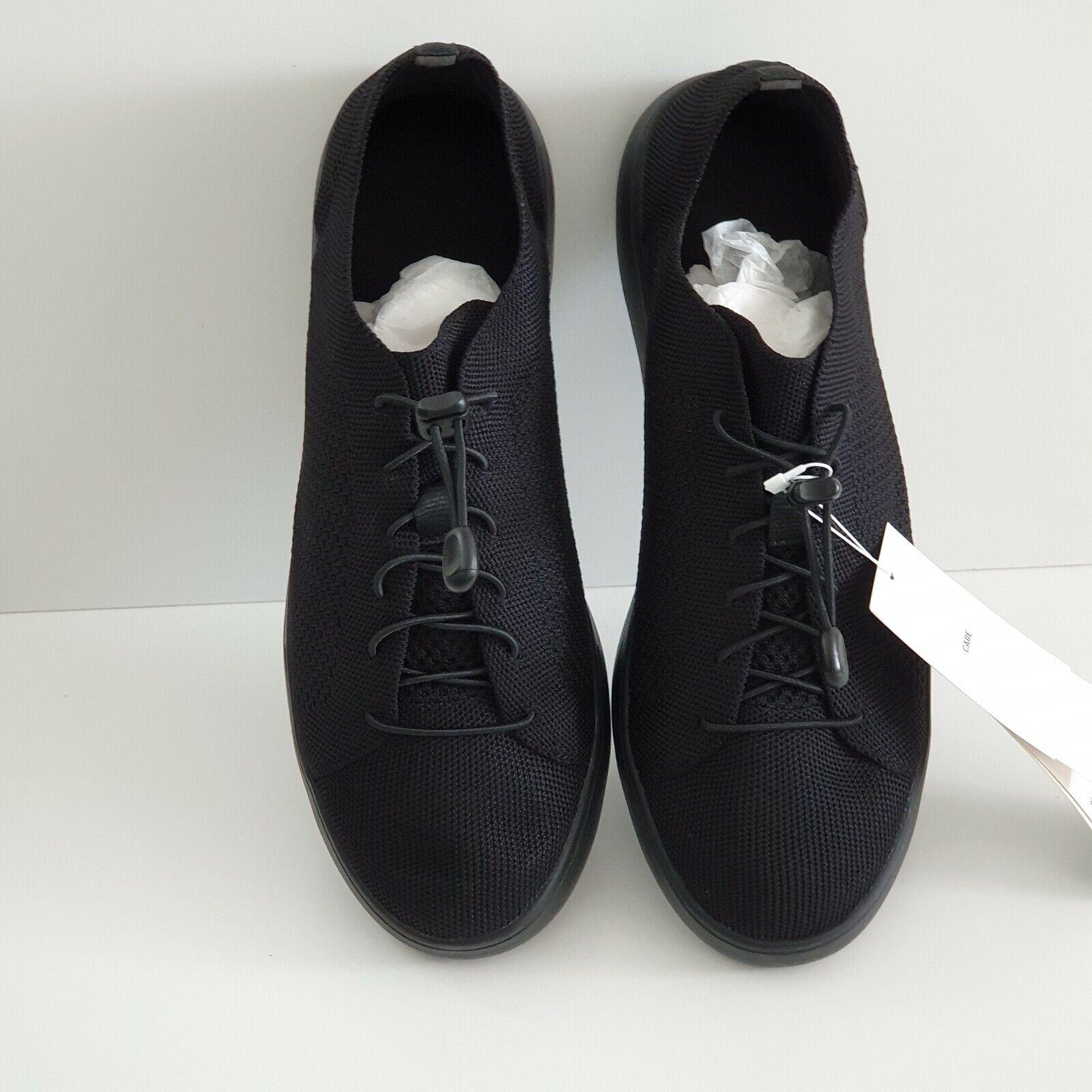 Uniqlo Knit Mesh Light Trainers Shoe Black Men UK 8