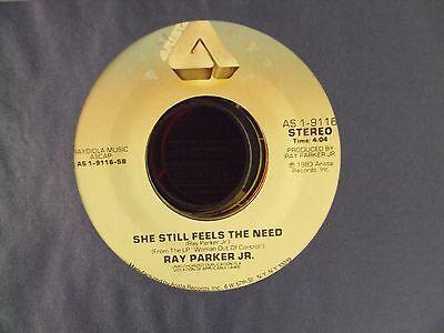"I Still Can't Get Over Loving You/she Still.. 7"" Company Sleeve Expressive Ray Parker Jr"