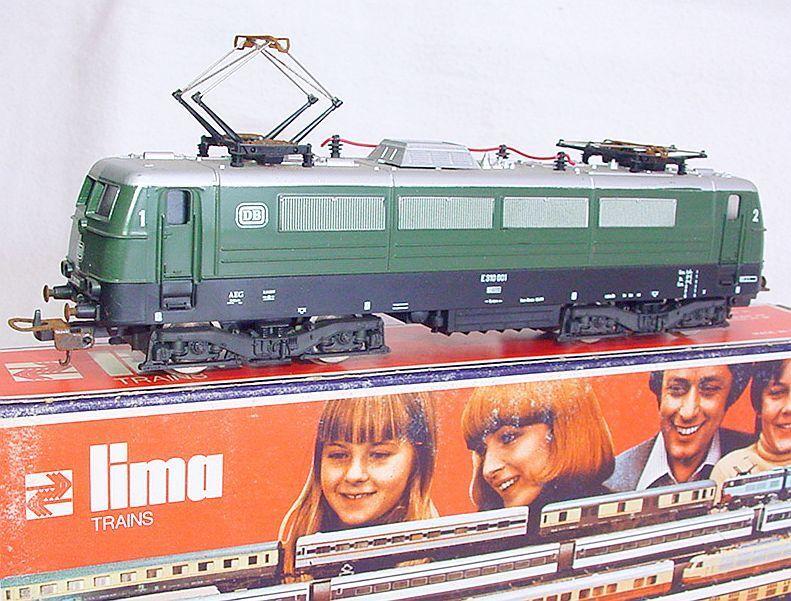 Lima HO 1:87 Deutsche Bundesbahn BR E-310 ELECTRIC LOCOMOTIVE verde MIB`78 RARE