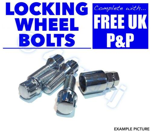 4 Locking Wheel Nuts Citroen Xsara /& Picasso /& ZX B1