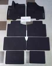 Toyota Sienna 2013 - 2017 Factory All Weather Rubber Floor Liners Genuine OEM OE